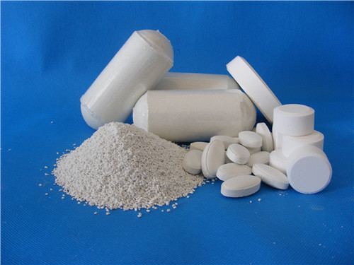 Calcium hypochlorite 65 70 kingnod china supplier for Hypochlorite de calcium piscine